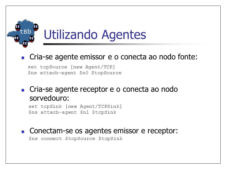 Criando Um Novo Agente Cria-se o cabeçalho do novo protocolo (conforme instruções anteriores).