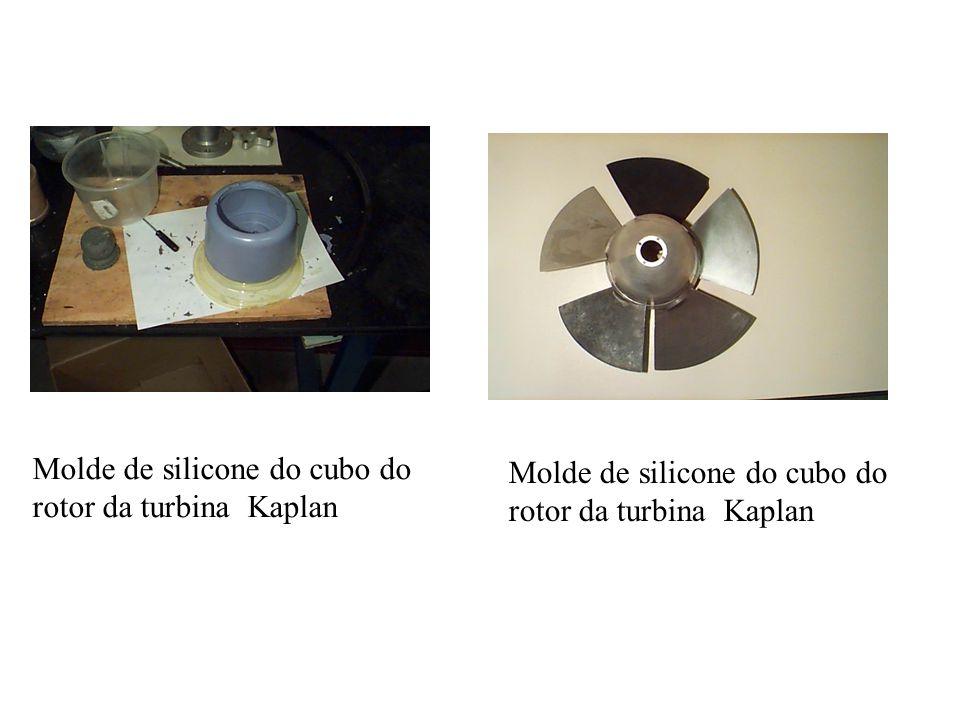 Molde de silicone do cubo do rotor da turbina Kaplan