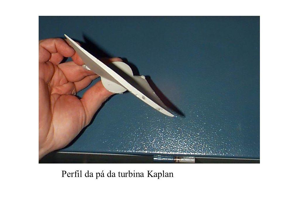 Perfil da pá da turbina Kaplan
