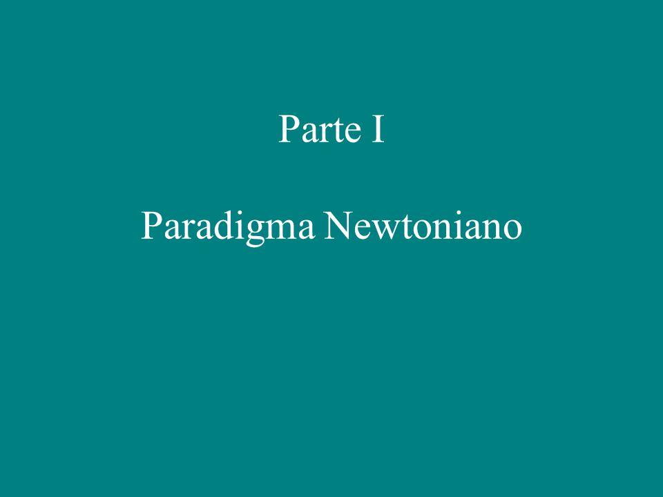 Parte I Paradigma Newtoniano
