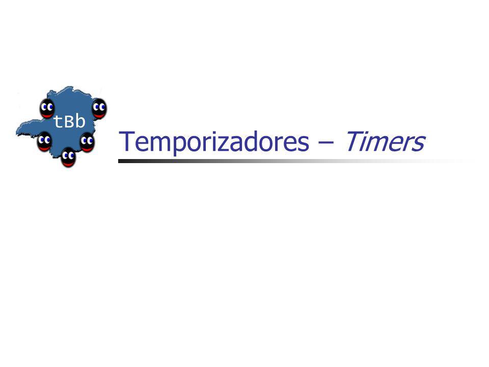 Temporizadores – Timers