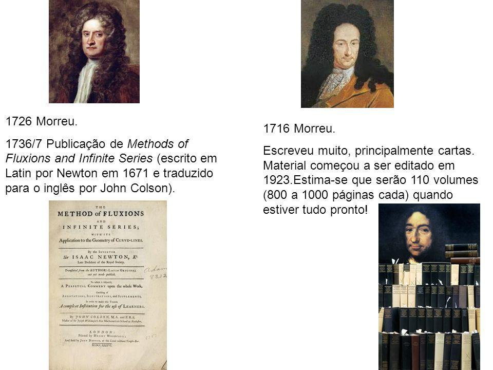 27 1726 Morreu.