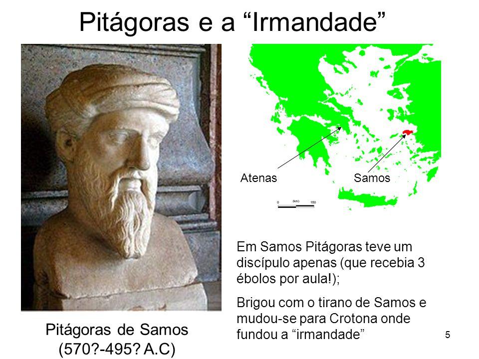 5 Pitágoras e a Irmandade Pitágoras de Samos (570?-495.
