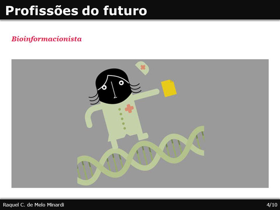 4 Profissões do futuro Raquel C. de Melo Minardi4/10