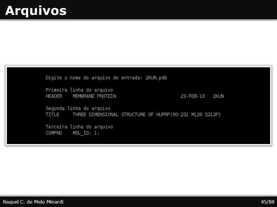 Arquivos Raquel C. de Melo Minardi45/88