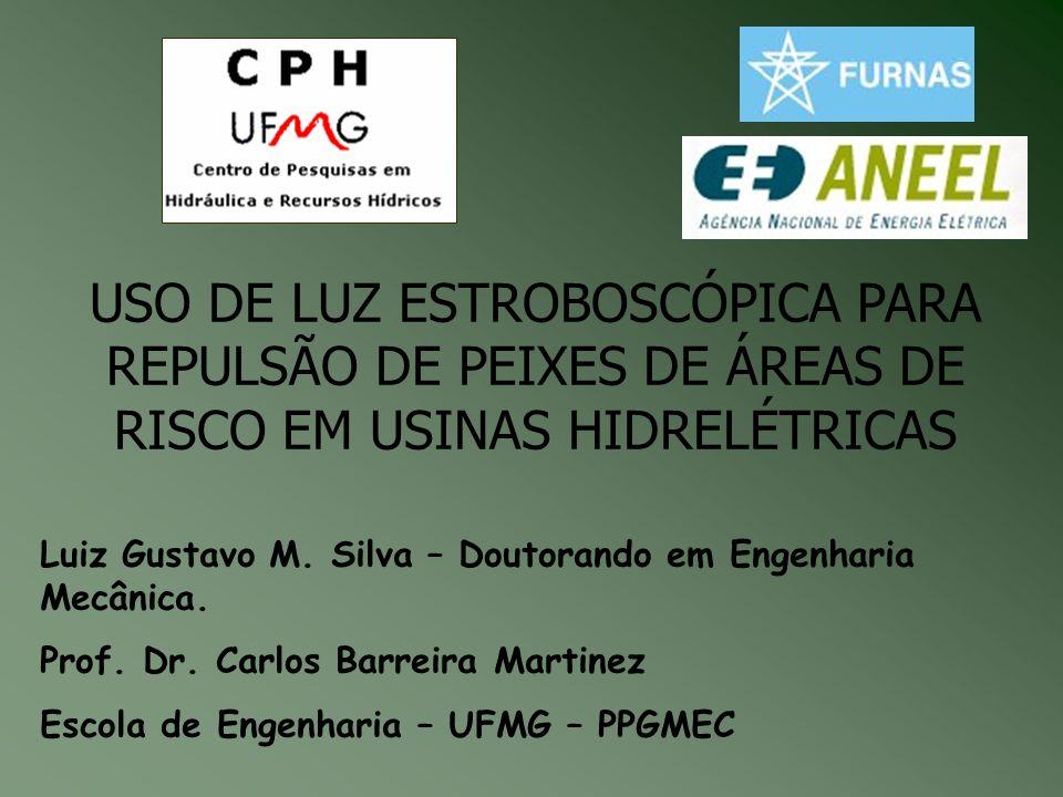 USO DE LUZ ESTROBOSCÓPICA PARA REPULSÃO DE PEIXES DE ÁREAS DE RISCO EM USINAS HIDRELÉTRICAS Luiz Gustavo M.