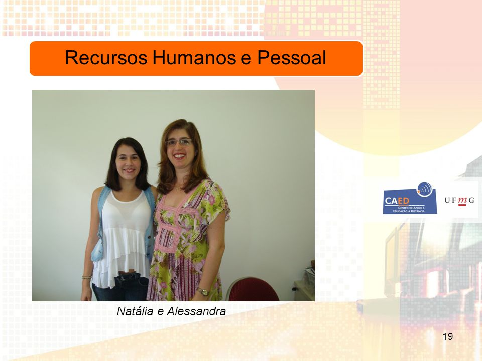 Recursos Humanos e Pessoal Natália e Alessandra 19