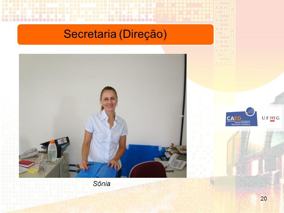 Secretaria (Direção) Sônia 20