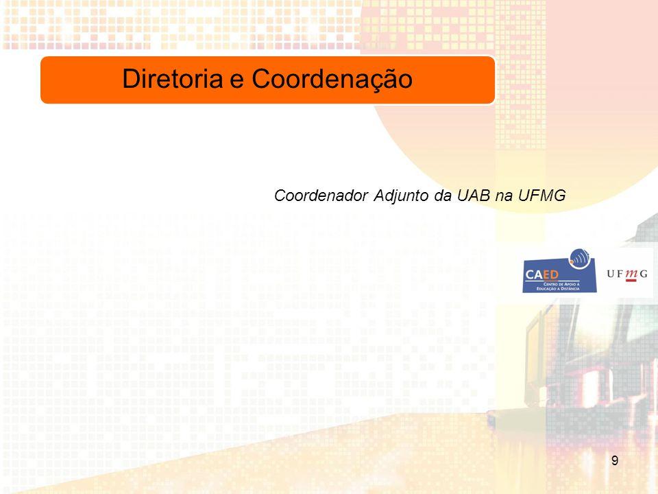 Diretoria e Coordenação Coordenador Adjunto da UAB na UFMG 9
