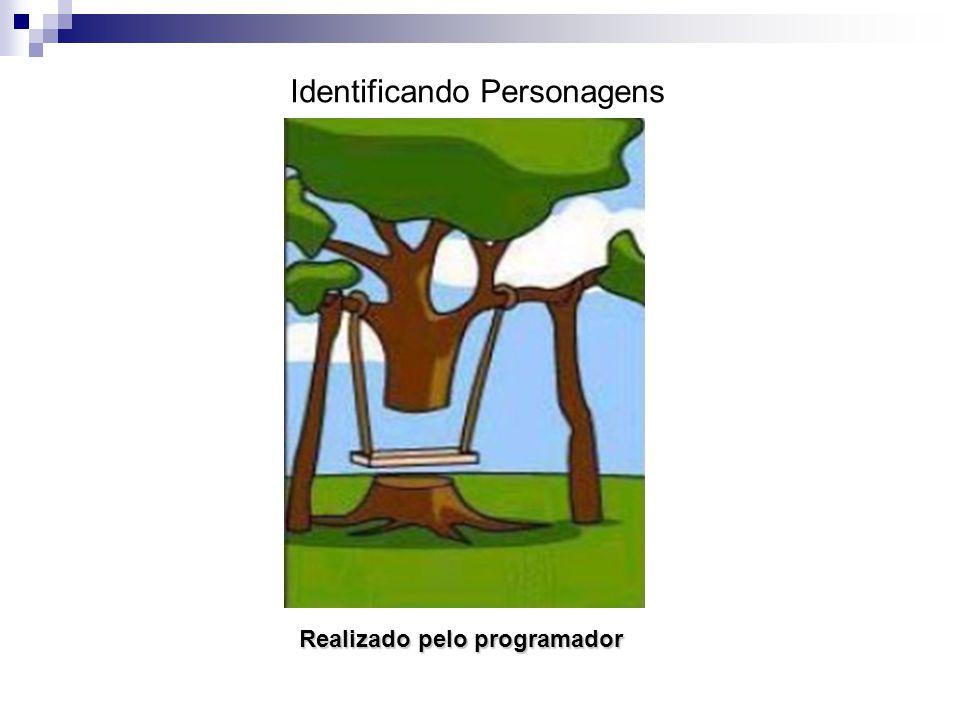 Realizado pelo programador Identificando Personagens