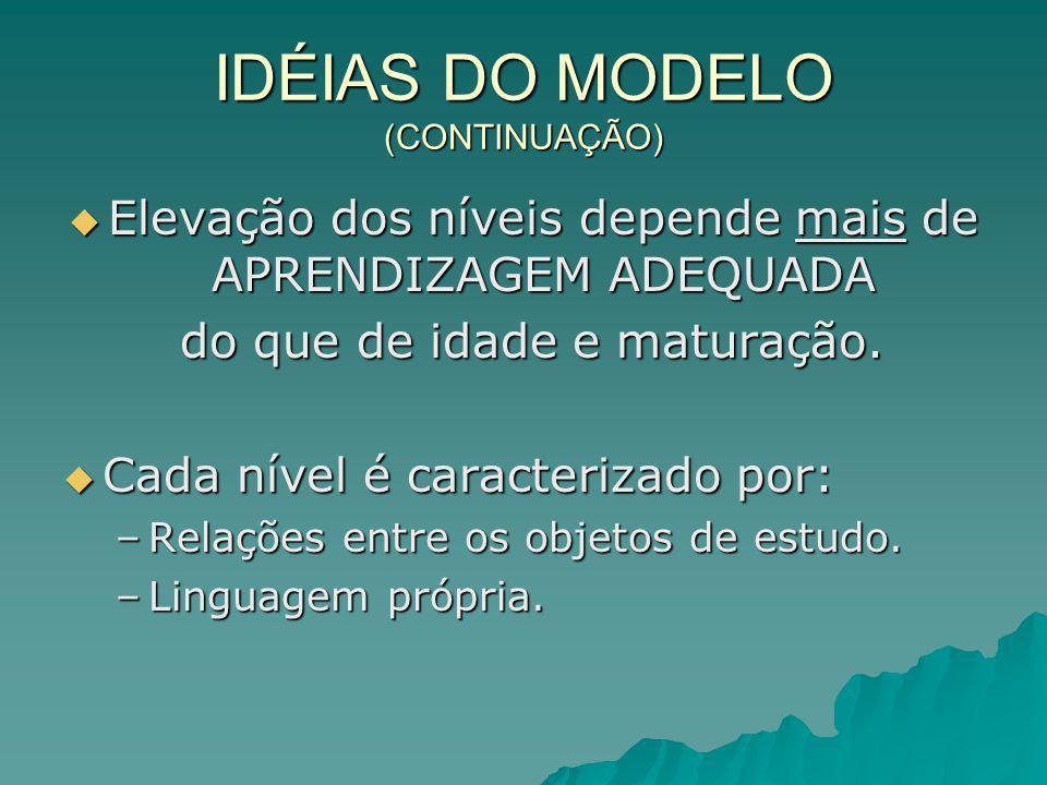 PROPRIEDADES DO MODELO (CONTINUAÇÃO) 4.