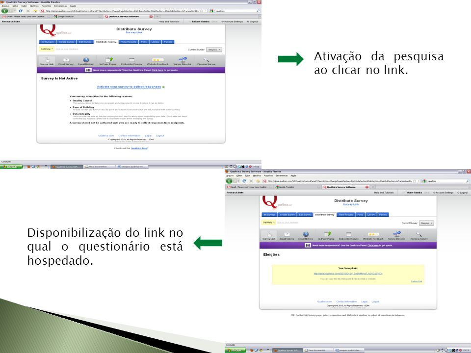 Questionário teste busca de informações sobre Eleições http://qtrial.qualtrics.com/SE?SID=SV_0udWMvXqi7JuS5C&S VID=