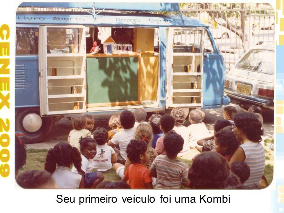 Seu primeiro veículo foi uma Kombi