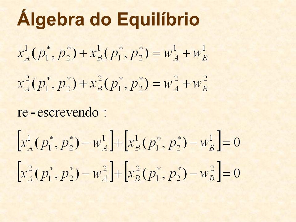 Álgebra do Equilíbrio
