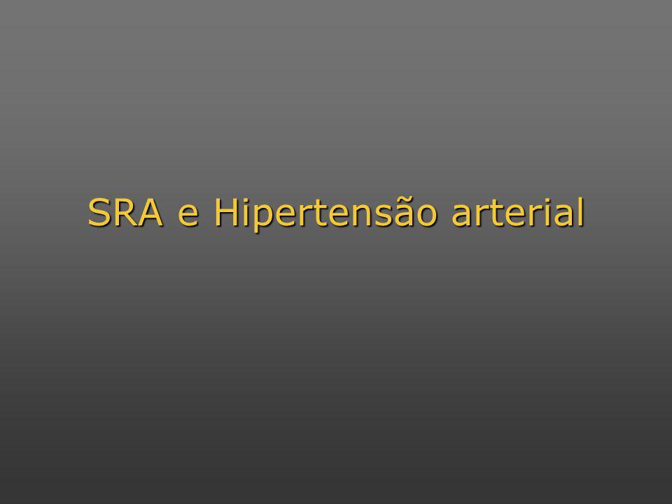 SRA e Hipertensão arterial