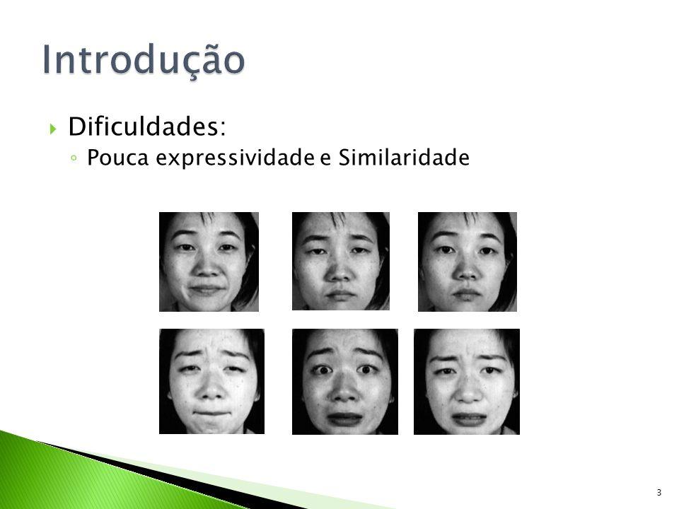 Dificuldades: Pouca expressividade e Similaridade 3