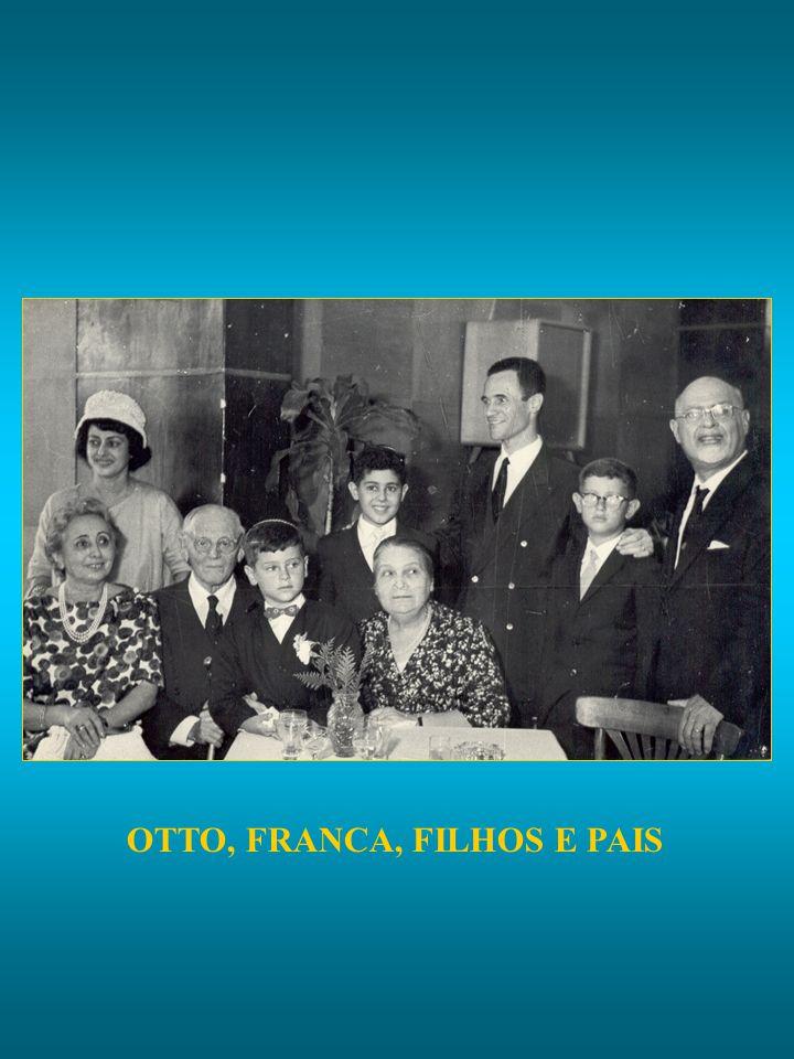 OTTO, FRANCA, FILHOS E PAIS
