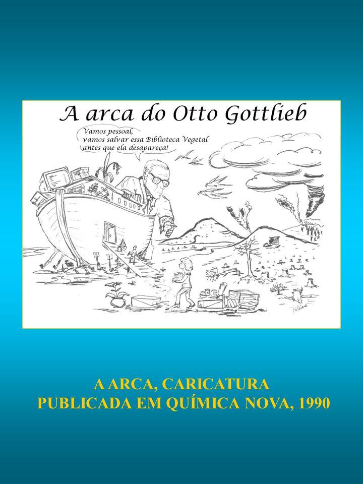 A ARCA, CARICATURA PUBLICADA EM QUÍMICA NOVA, 1990