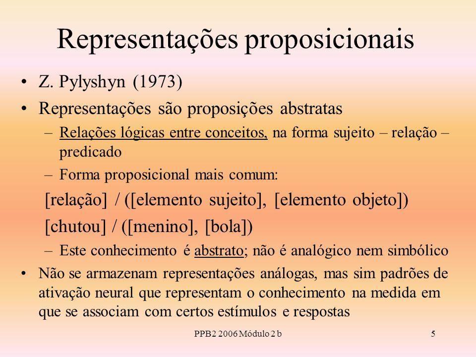 PPB2 2006 Módulo 2 b5 Representações proposicionais Z.