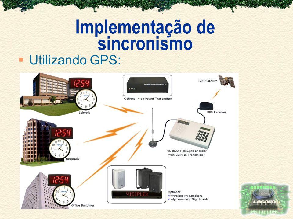 Implementação de sincronismo Utilizando GPS: