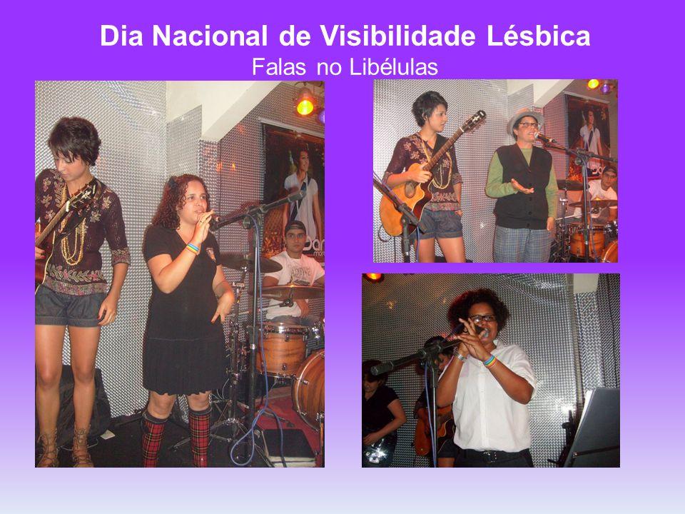 Dia Nacional de Visibilidade Lésbica Falas no Libélulas