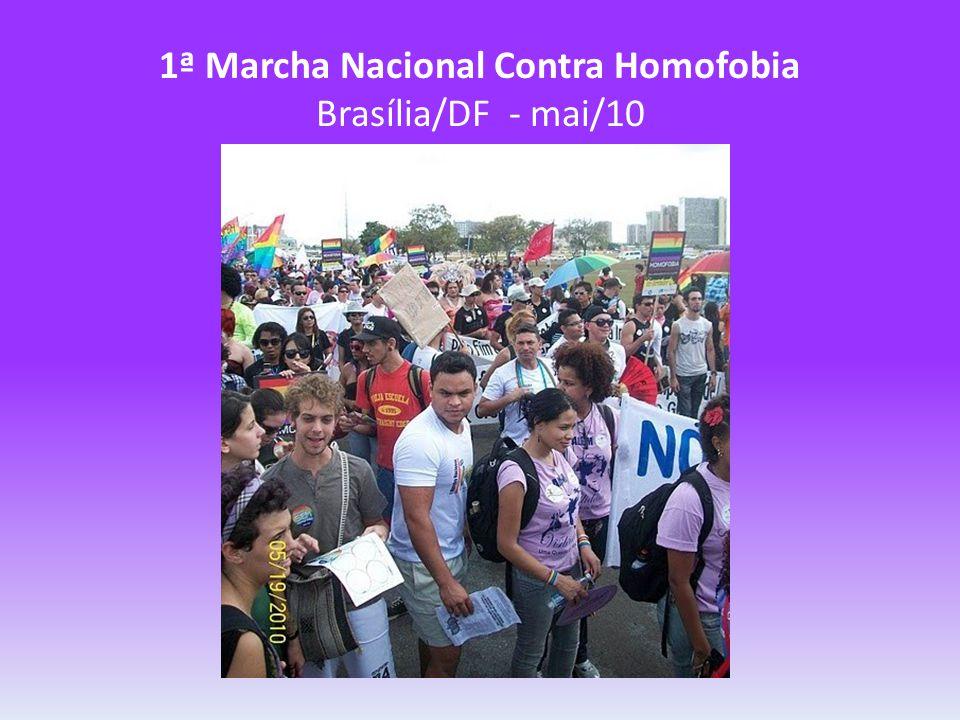 1ª Marcha Nacional Contra Homofobia Brasília/DF - mai/10