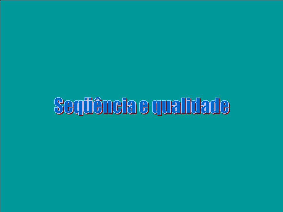 PCR inespecífico & seu ORESTES (A) 200 cDNA (fita -) AUG amplicon (fita +) Iniciador (60ºC 37ºC) amplicon (fita -) amplicon (fita +) PCR (60ºC) ORESTES AGATCGATCATGACTTACGGGCGCGCGATATCG GGGCGCGCGATATCGAAAAATTTATAAGGCTAG CCCCGGCGGCTCGGCCGGGGAGATCGATCATGAC +ORESTES (outros iniciadores)