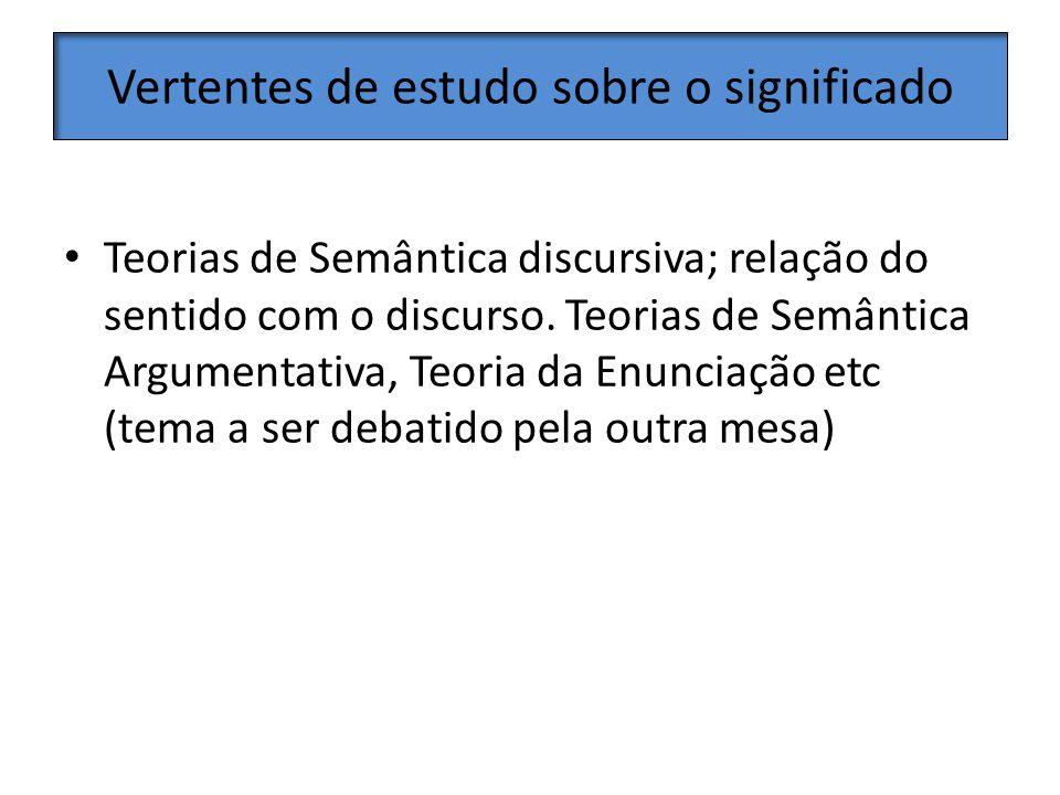 Possibilidades Na realidade brasileira, esses cursos introdutórios poderiam ser de oferta obrigatória na pós, por um grupo de linguistas, não necessariamente semanticistas ou pragmaticistas, pois não os temos em número suficiente.