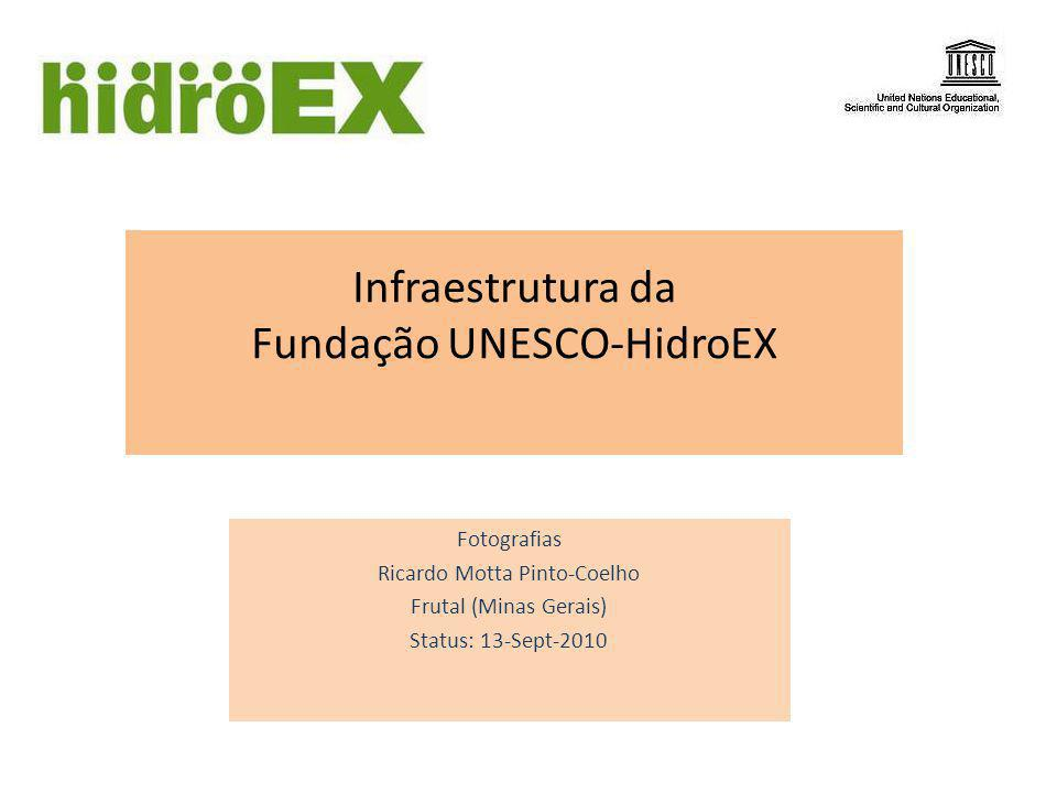 Sede atual da Fundação UNESCO-HIDROEX Rua Tiradentes, 325, Frutal (MG)