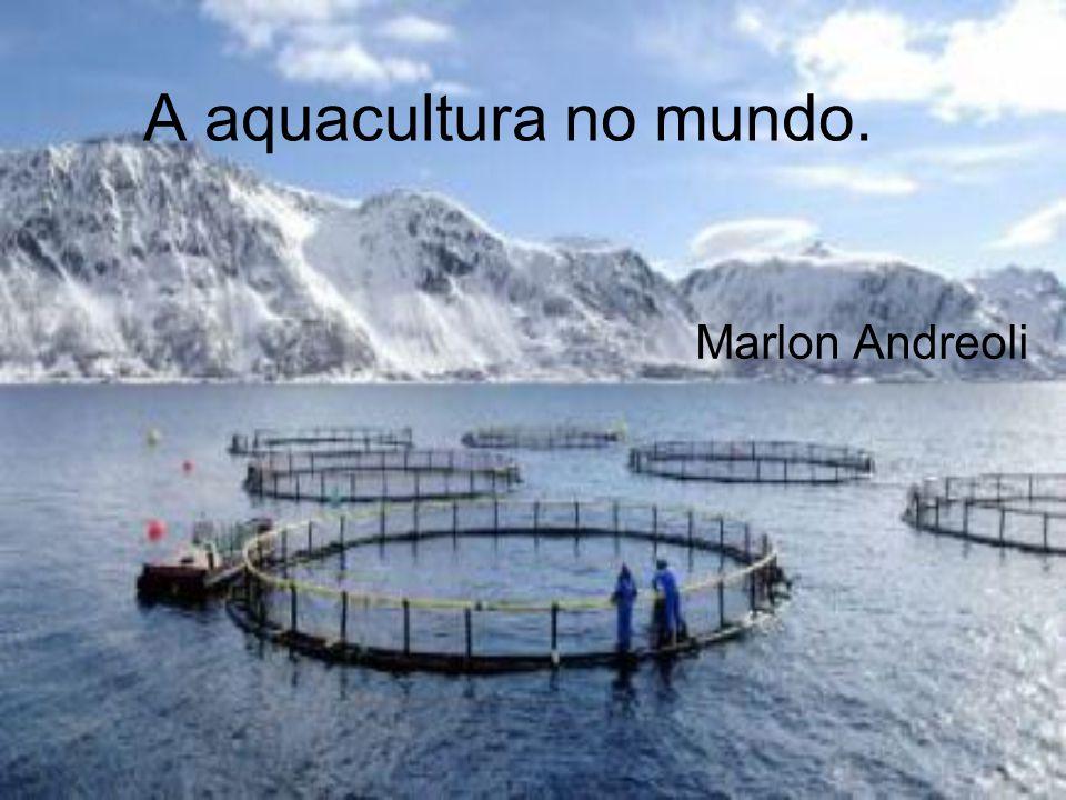 A aquacultura no mundo. Marlon Andreoli