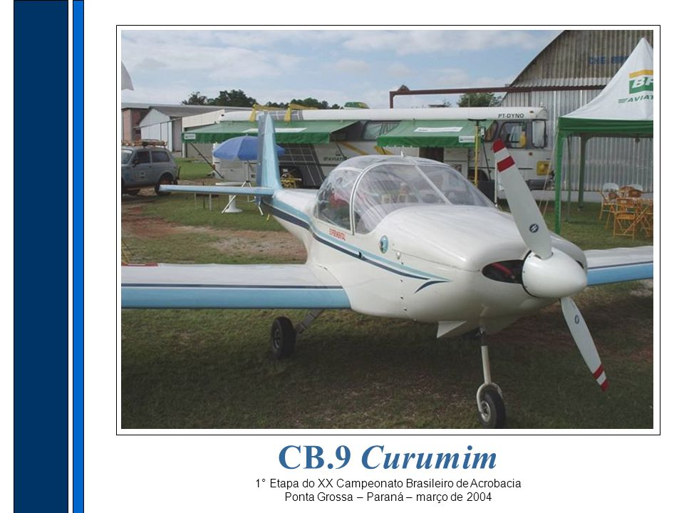 CB.9 Curumim 1° Etapa do XX Campeonato Brasileiro de Acrobacia Ponta Grossa – Paraná – março de 2004