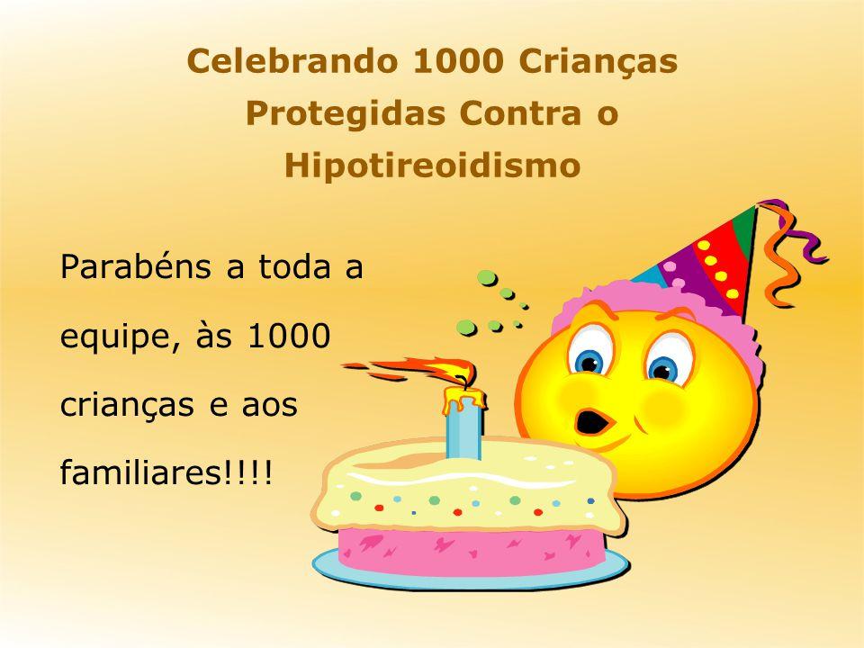 Parabéns a toda a equipe, às 1000 crianças e aos familiares!!!.