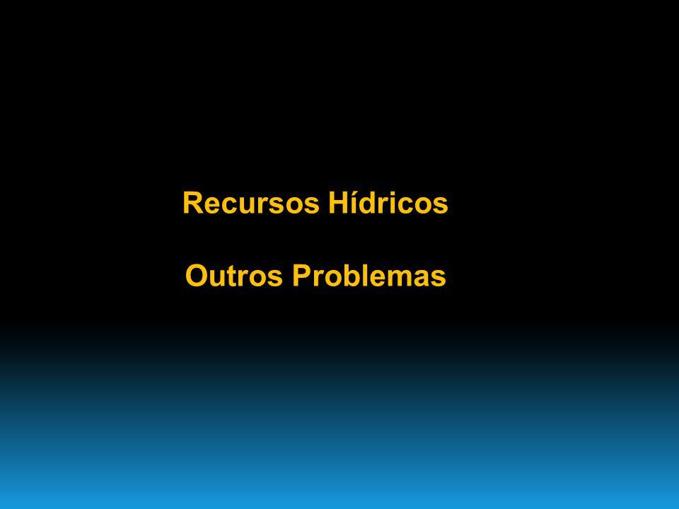 Recursos Hídricos Outros Problemas