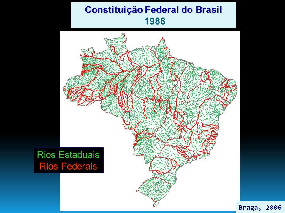Rios Estaduais Rios Federais Constituição Federal do Brasil 1988 Braga, 2006