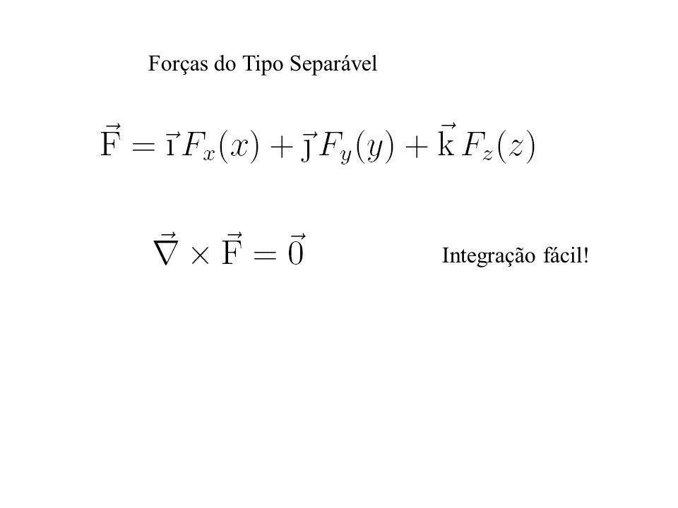 Forças do Tipo Separável Integração fácil!