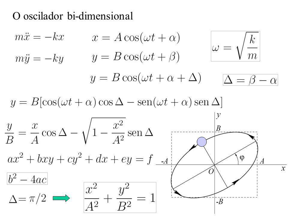 O oscilador bi-dimensional