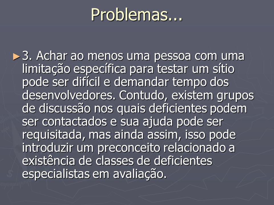 Problemas... 3.