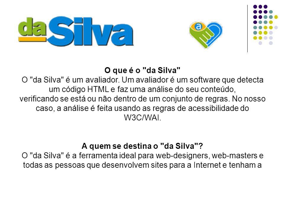 Site avaliado: http://www.dcc.ufmg.br Baseado nas Recomendações para a acessibilidade do conteúdo da Web 1.0 http://www.dcc.ufmg.br
