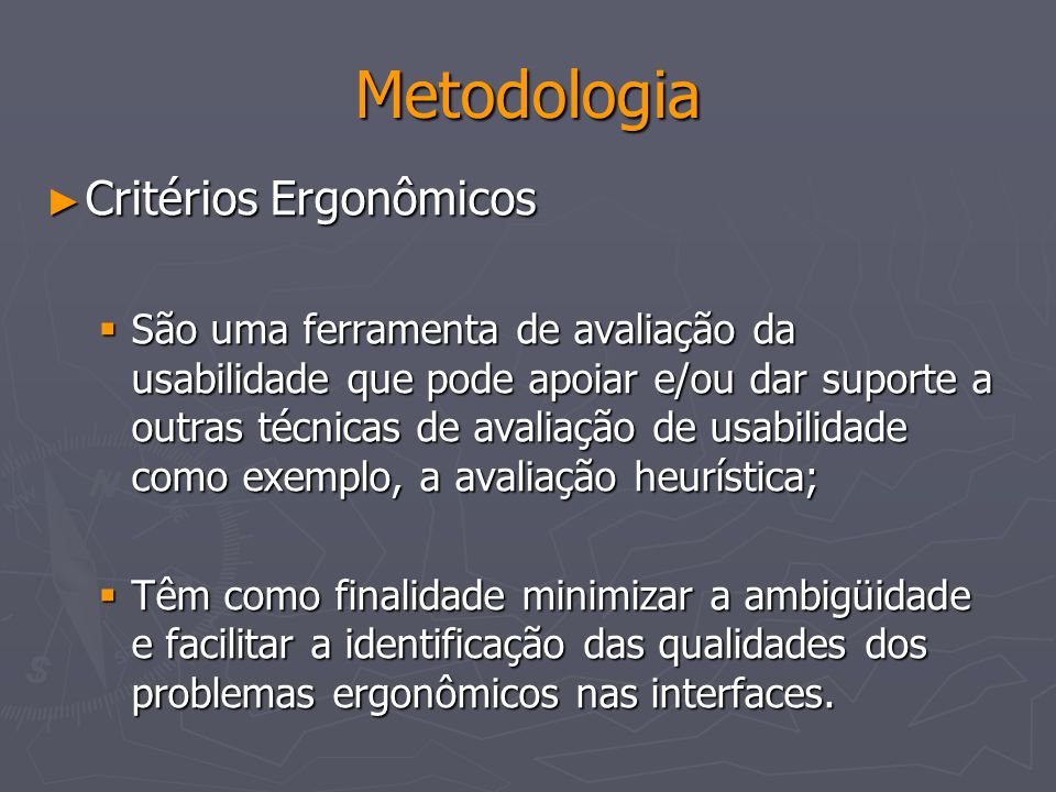 Bibliografia GRIBBONS, William.The new demographic: changing our view of roduct usability.