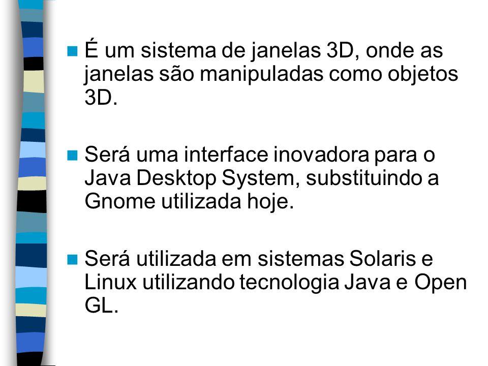 Segundo a Sun, o time que está desenvolvendo o projeto é o mesmo que desenvolveu a tecnologia Java.