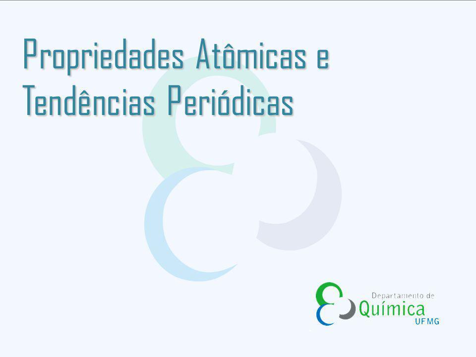 O tamanho atômico pode ser definido como a distância entre os átomos em uma amostra do elemento.