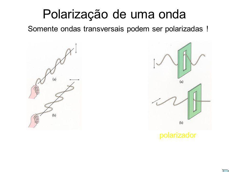 Emissão de OEM polarizadas emissão de luz polarizada transmissor antena Representação E plano de oscilação Superposição de ondas que vibram em uma mes