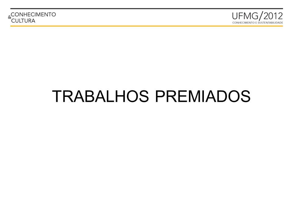 TRABALHOS PREMIADOS