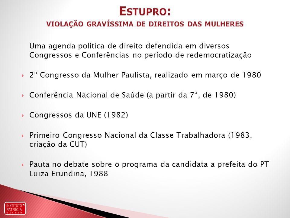 18 anos do Fórum Interprofissional sobre Violência Sexual Sustentabilidade do debate conceitual, técnico e político