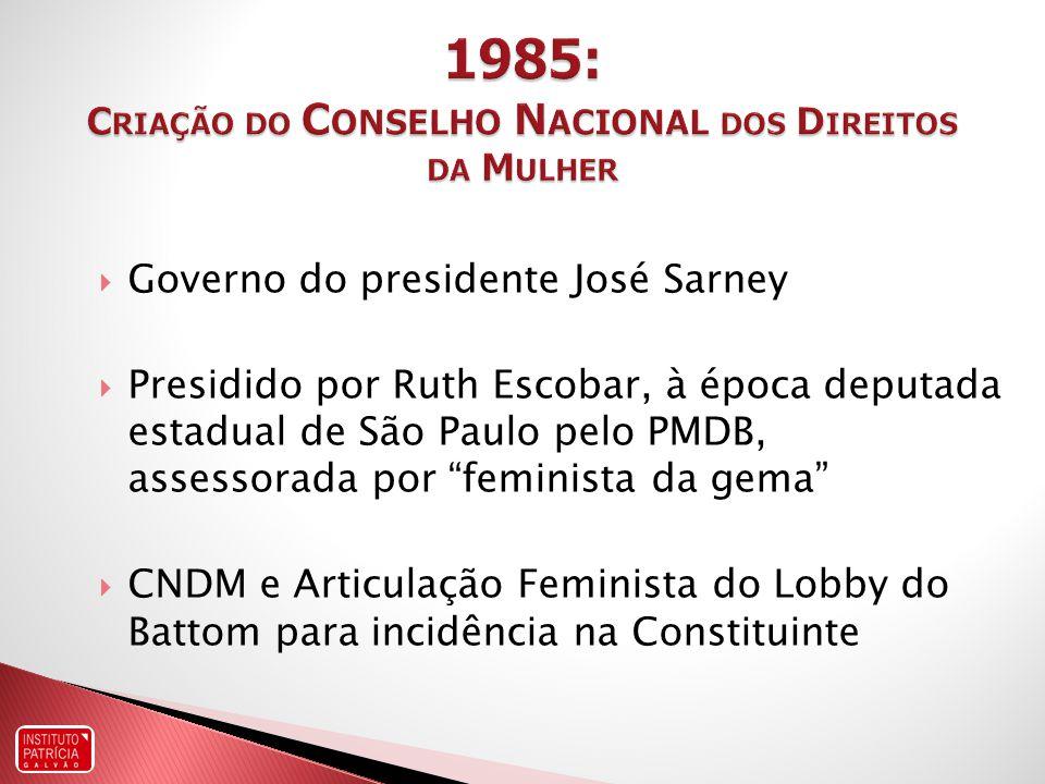 1998: Norma Técnica de Prevenção e Tratamento dos Agravos Resultantes da Violência Sexual contra Mulheres e Adolescentes 2005: Norma Técnica de Atenção Humanizada ao Abortamento