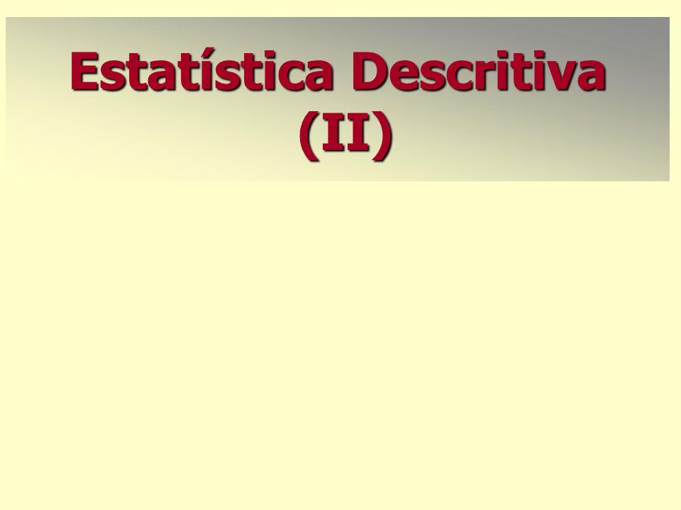 Estatística Descritiva (II)