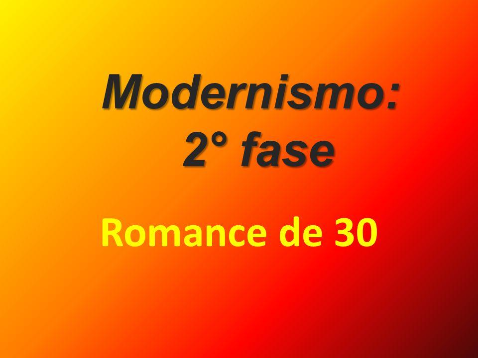 Modernismo: 2° fase Romance de 30