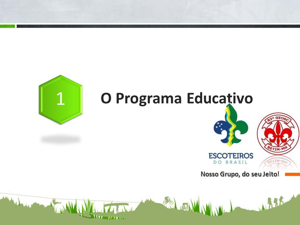 O Programa Educativo Nosso Grupo, do seu Jeito Nosso Grupo, do seu Jeito!