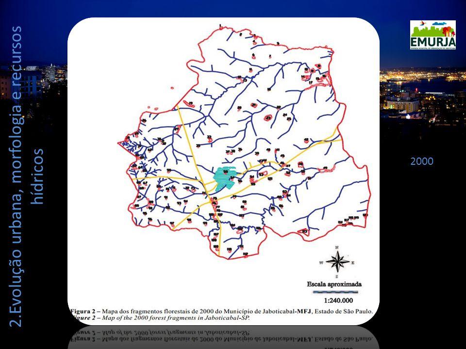 2.Evolução urbana, morfologia e recursos hídricos 2000