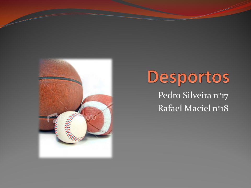 Pedro Silveira nº17 Rafael Maciel nº18